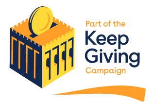 Part of the Keep Giving campaign